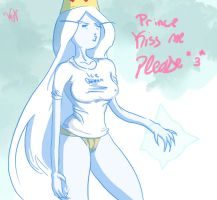 ice queen sexy time / adventure time by WhaleOfNightmare