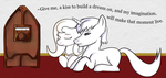Give Me, a kiss to build a dream on... by Acesential