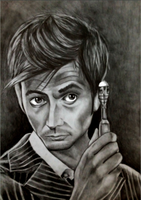 The 10th Doctor by SparklingUnicornxxx