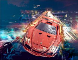 Need for speed ~ Most Wanted by Anzert