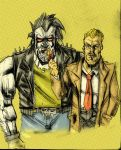 Lobo meets Constantine by Canalus