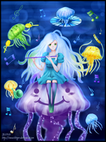 Jellyfish Band by snowishtiger