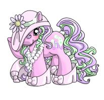 Dress Up Pony Tattoo by noelle23