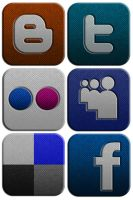 Social Network Icon Set 2 by Lucifer666mantus
