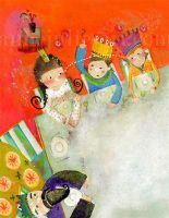 Les princes... - annejulie by childrensillustrator