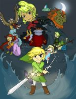 The Wind Waker by CrayonPuppy