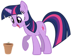 Twilight's First Seedling by iliekpones
