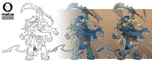 Art evolution of the Chief by MabaProduct