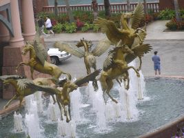 pegasus fountain 1.1 by meihua-stock