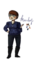 Daily Outfit: Monday Dec. 9th by ShannaBanan-o-rama