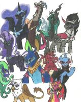 Mlp Villains! by KNIGHTDEMON