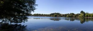 Roath Park Panorama by LASlocombe
