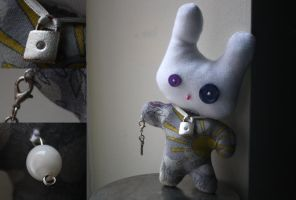Plushie: Secret Diary Rabbit by delusional-dreams