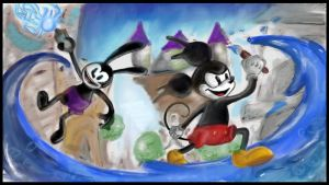 [ART ACADEMY MANIA] Epic Mickey by GreatMasterofChibis