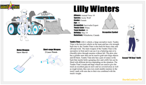 Ref. Sheet: Lilly Winters by DarthGoldstar710