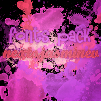 Fonts Pack C: by NextToJasmineV