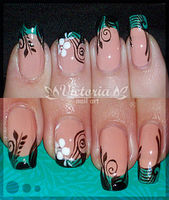 Nail art 136 by ChocolateBlood
