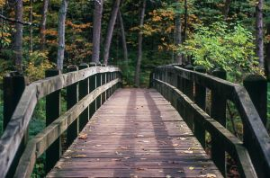 Bridge over Troubled Waters by PLutonius