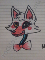 My first mangle and fnaf drawing :3 by rocklover25