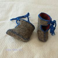 Viking Baby Booties by sidneyeileen