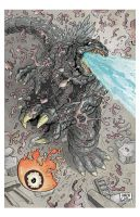 Godzilla vs. Hedorah, page 3. by aaronjohngregory