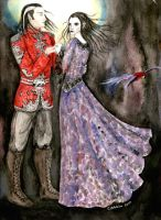 Fiachra and Morgaine by ladyiolanthe
