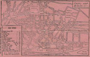 Cairo Map by parry