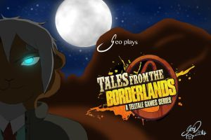 'Geo plays Tales from The Borderlands' cover. by xXTeenLionessXx