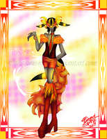 Red and Orange and Yellow OHMY by the-suns-moon