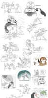 PoM doodles 2 by CandleBell