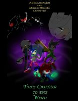 Take Caution to the Wind Book 1 Cover Collab by xXStoryWolfXx