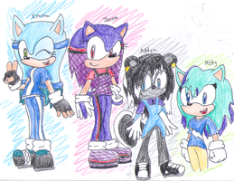 .:Gift to Friends:. by SonicStaryFan