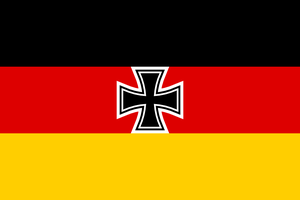 Combined flag of language: German by hosmich