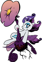 Fabulous Rarity Vector by MrBarthalamul