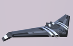 Righton ML-8 Flying Wing by Pixel-pencil