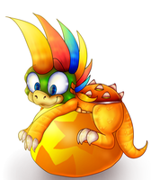 Lemmy Koopa by PlagueDogs123