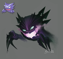 093 Haunter by ElyBibi
