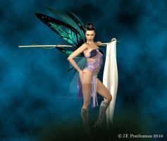 Color Guard Fairy by PosthumusCreations
