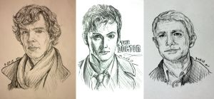 BBC Trio by MoPotter