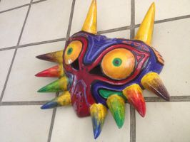 Majora's mask by TheAngryMaskSalesman