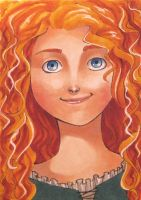 Merida ACEO by Jazzie560