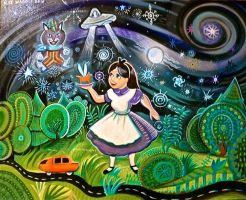 Alice in Warbleland by hyronomous