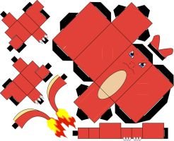 Pokemon 005 - Charmeleon by straffehond