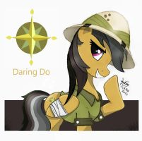 MLP FIM - Daring Do by Joakaha