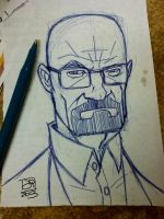 Breaking Bad Doodle Original by Kenpudiosaki