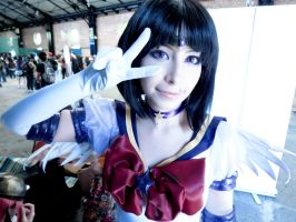 Kamen 2013 Eternal Sailor Saturn by MaryAlfaro
