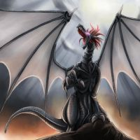 Contest Entry by LongHuMen by loneantarcticwolf