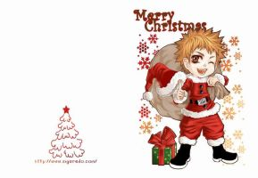 Ichigo Christmas card by siguredo