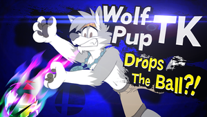 Challengers Approaching: Wolf Pup TK by LearlessFeader