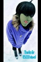 GoRiLLaZ Cosplay a lot of snow by Murdoc-lein